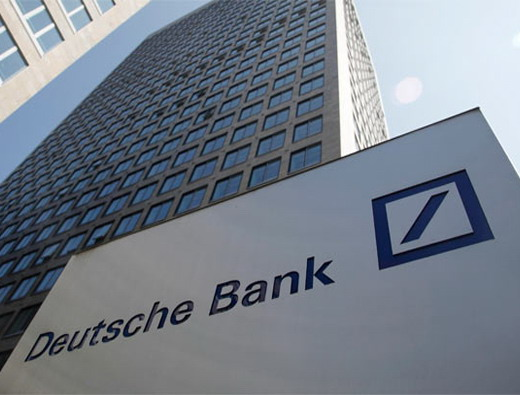 Deutsche Bank increased its profit more than tripled