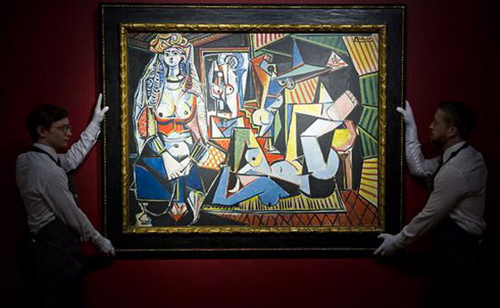 Painting by Pablo Picasso sold in New York for a record $ 179 million